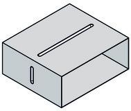 Steckverbinder für Flachkanal