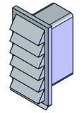 Fassadengitterkasten HASTRAG hochkant