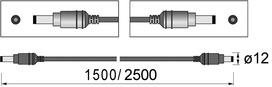 Verlängerungsleitung Verteiler/Verteiler HETTICH easys