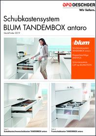 QuickFinder - BLUM TANDEMBOX 2019