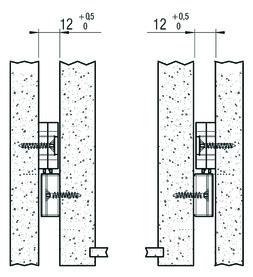 Einzugs-Dämpfung FULTERER FR 8003 ECD seitl. grau