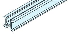EKU 042.3083.300 Griffprofil, vertikal, Alu elox. 3000mm