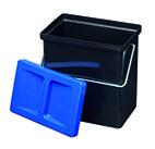 Kleinbehälter 4 mit Deckel blau Müllex Art-Nr. 4163