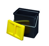 Kleinbehälter 4 mit Deckel gelb Müllex Art-Nr. 1182