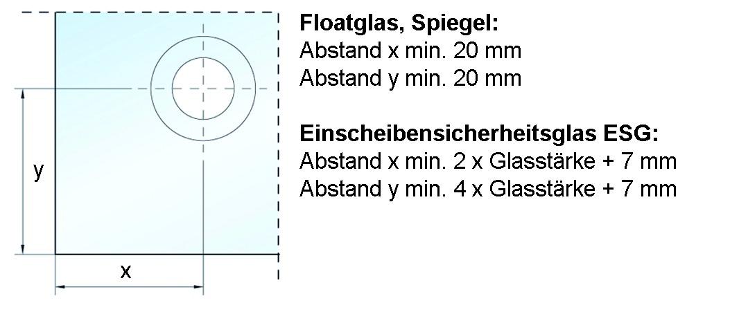 Punkthalter PUNTO ø 25 mm