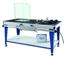 Glasklebetisch Basis Verifix® für die 90° Verklebung