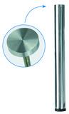 Tischfüsse für Glasplatten ø 38/60 mm