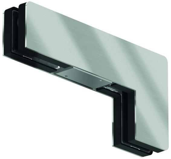 Winkeloberlichtbeschlag PT 40 für Ganzglasanlagen DORMA Mundus Comfort