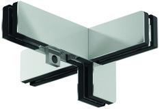 Winkeloberlichtbeschlag PT 41 für Ganzglasanlagen DORMA Mundus Comfort