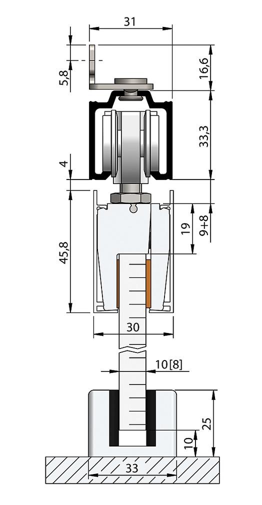 Komplett-Set HELM 73 - Glas