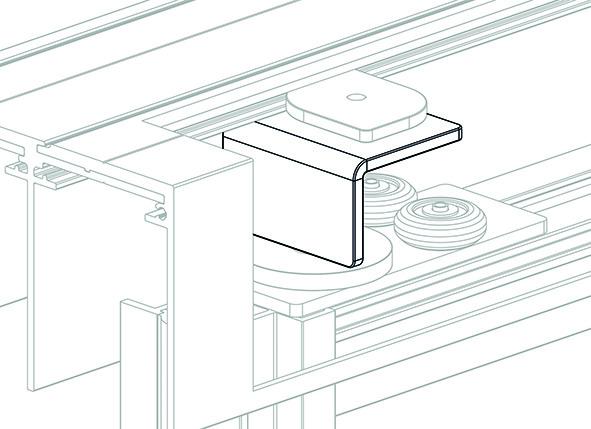 Anschlagstopper-Set OK-LINE Slideflex