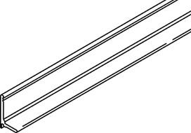 Glasfix-Deckprofil