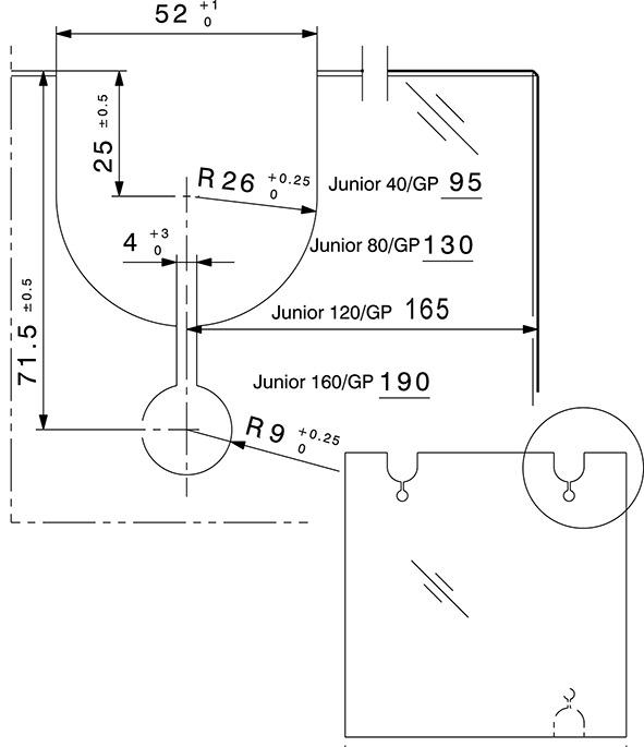 Schiebetürbeschläge HAWA-Junior 80/GP