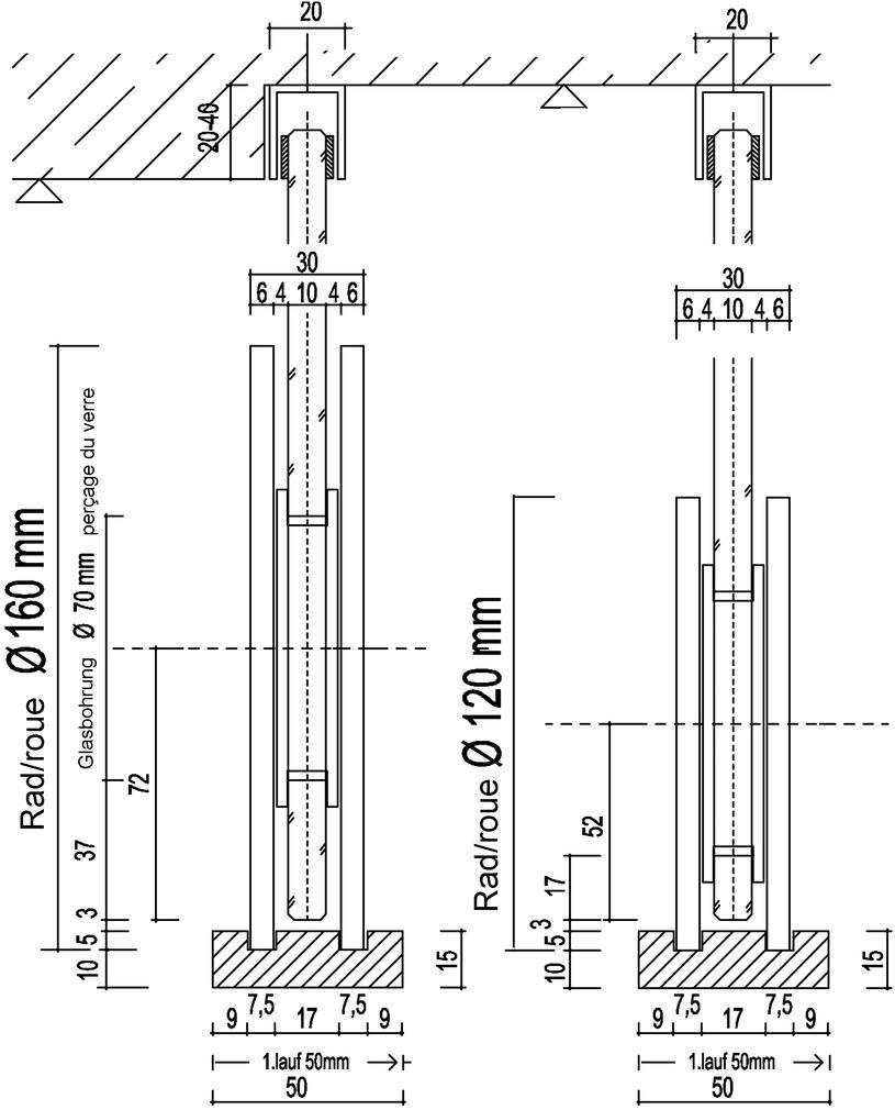 Einzelkomponenten zu ASTEC 400
