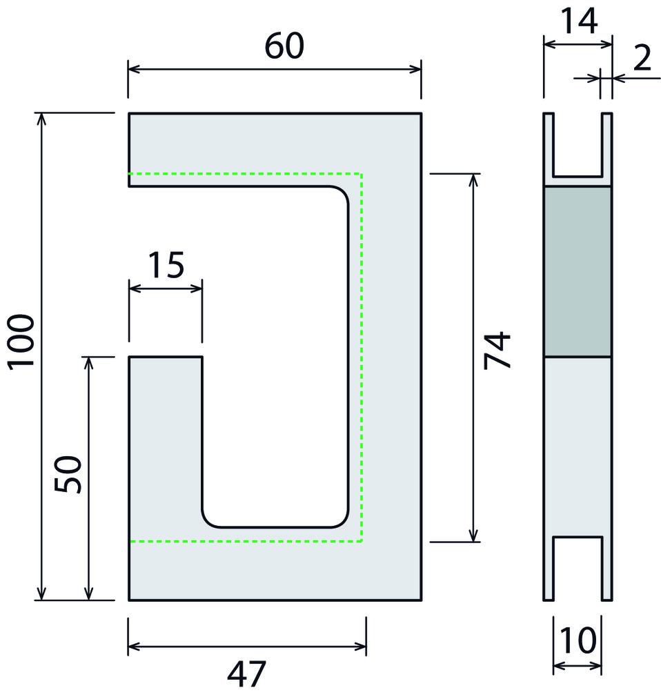 Schiebetürgriffe für Glastüren