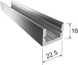 Boden-Wand-Profil Portavant 60/120