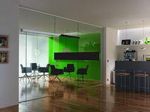 Komplett-Set VITRIS Portavant 120G, Glaswandmontage