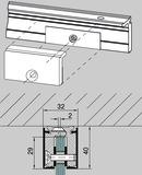 Wandanschlussprofil-System DORMA