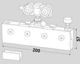 Zubehör-Set zu DORMA RS 120