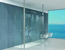 Boden-Deckenspanner für Glaswände/Türen PAULI+SOHN