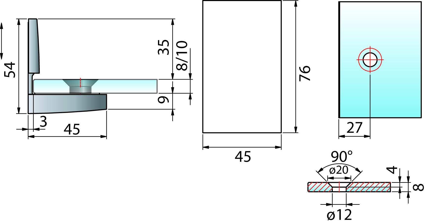 Winkelverbinder PAULI+SOHN PAVONE