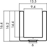 Bodenprofil Vitris Aquant 40