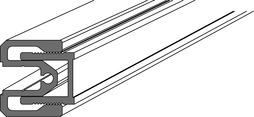 Wandanschlussprofile für Seitenteile GRAL