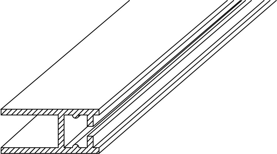 Wandanschlussprofile GRAL