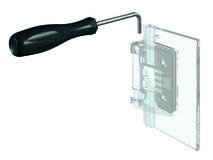 Inbusschlüssel abgewinkelt 4 mm PAULI+SOHN