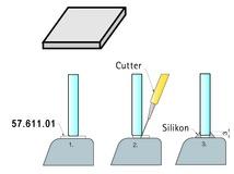 Weich-PVC-Platten für Glasplatten PAULI+SOHN