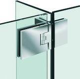 Duschpendeltürbänder / Winkelverbinder PAULI+SOHN