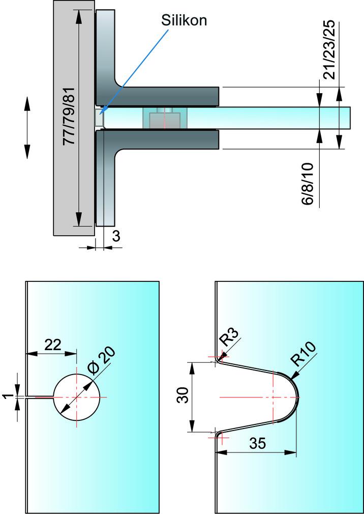 Zweiseitiger Winkelverbinder PAULI+SOHN