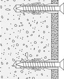 Befestigungsset zu Dusch-Klappsitz HEWI R 380