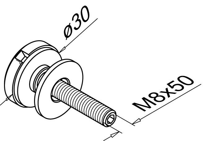 Punkthalter Modell 0740