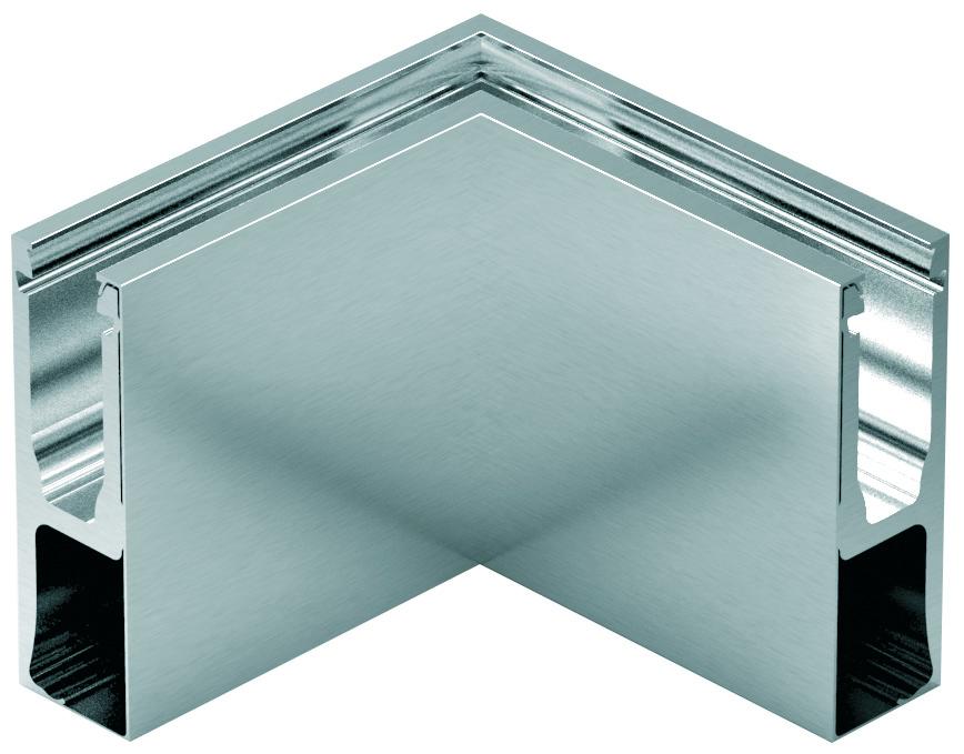 Innenecken-Set zu Glasgeländerprofil cp-1402 PAULI+SOHN