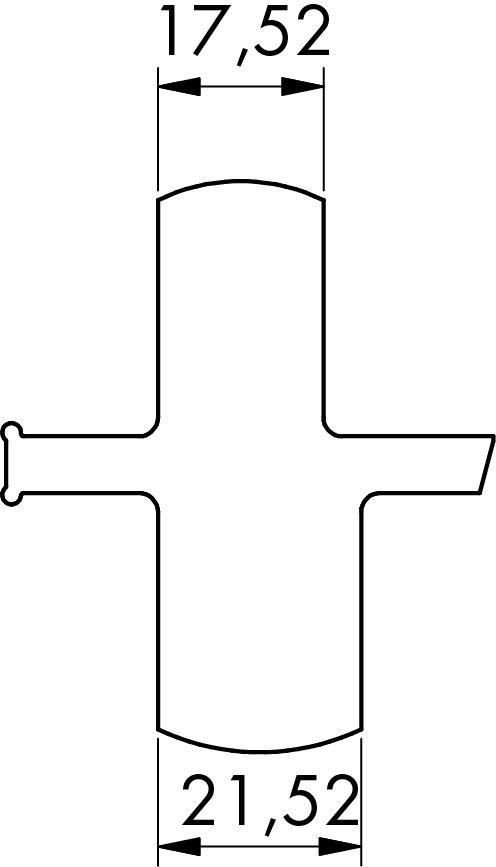 Gummiabstandsdichtungen zu cp-1400/1402/1404 PAULI+SOHN