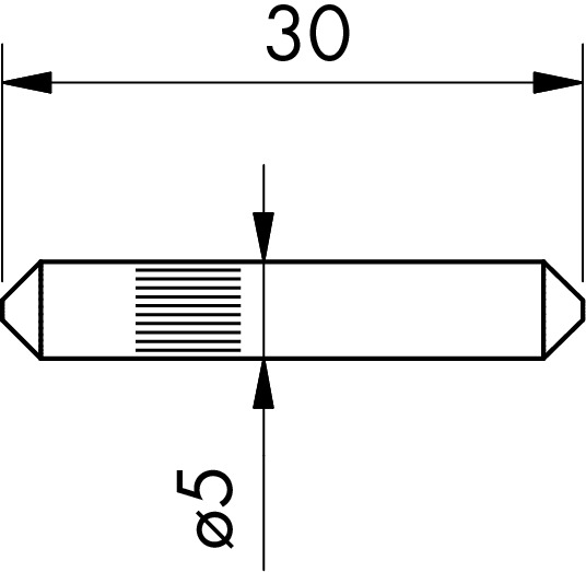 Verbindungsstifte zu cp-1400/1402/1404 PAULI+SOHN