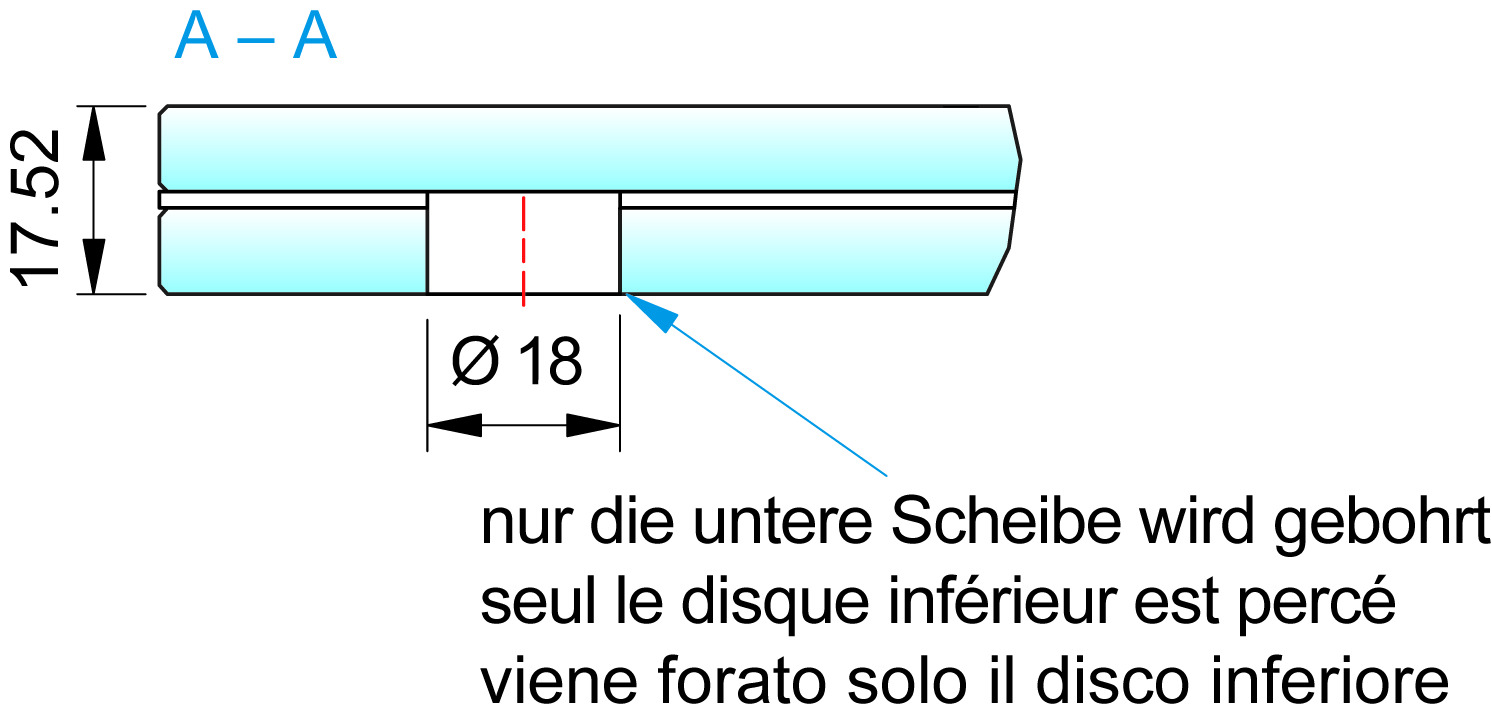 Vordach-Wandprofil PAULI+SOHN VD 1510