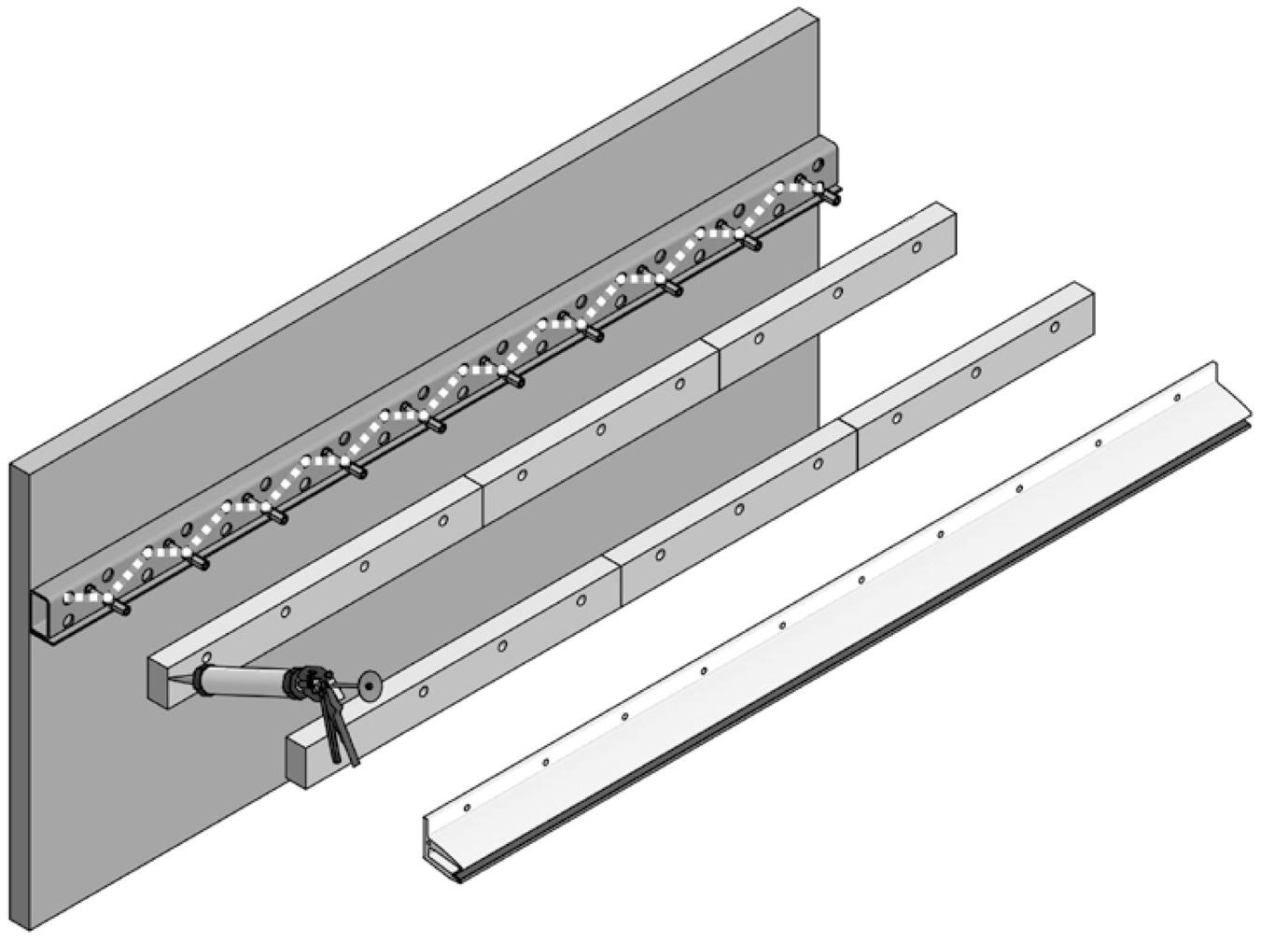 Wärmedämm-Konsole für VD 1510 / VD 1511 PAULI+SOHN
