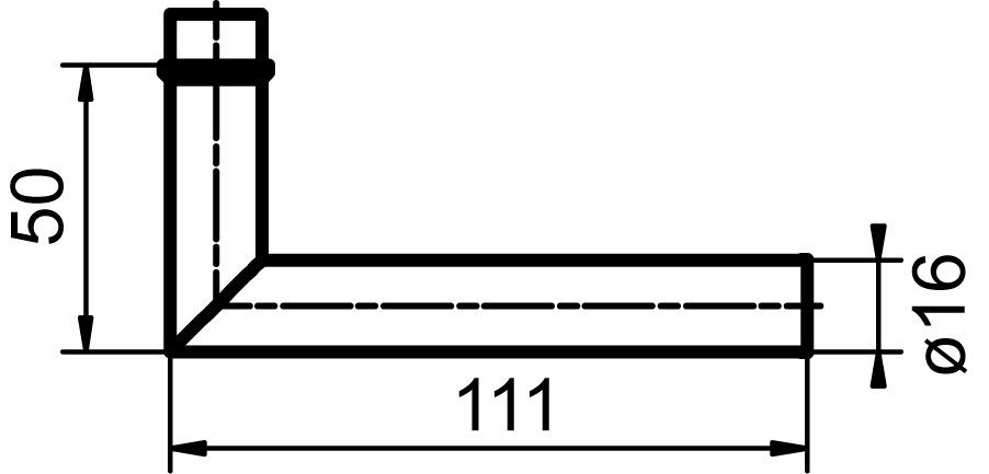Türdrücker GLUTZ 33002 Gstaad