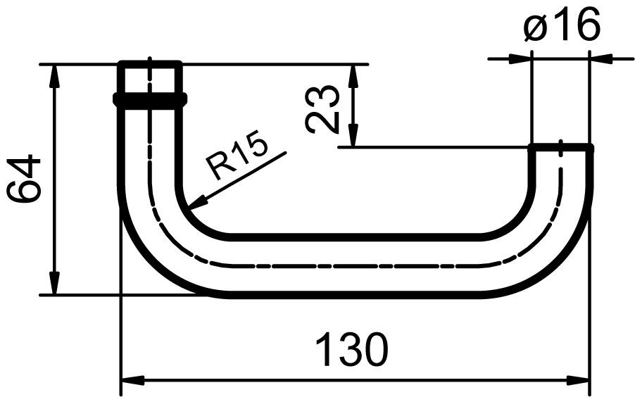 Türdrücker GLUTZ 33004 Wengen