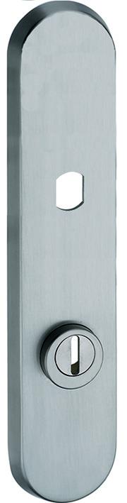 Schutztürschilder aussen GLUTZ 5439K.2S-ZA für Türknöpfe