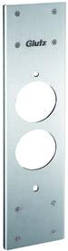 Frässchablone für flächenbündige WC-Rosetten GLUTZ 59017
