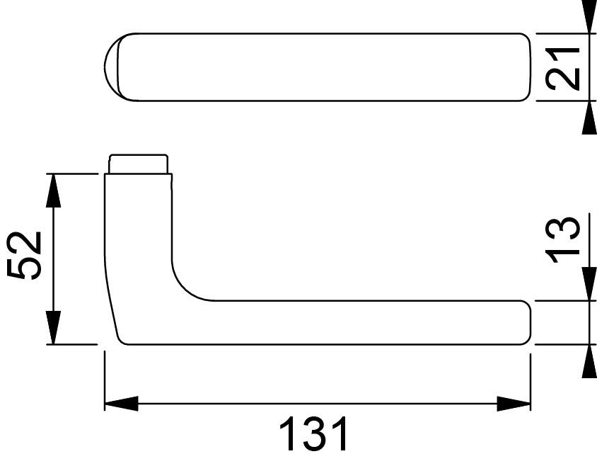 Türdrücker HOPPE E1643 Dallas Sertos®