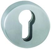 Schlüsselrosetten gewölbt HOPPE E19S