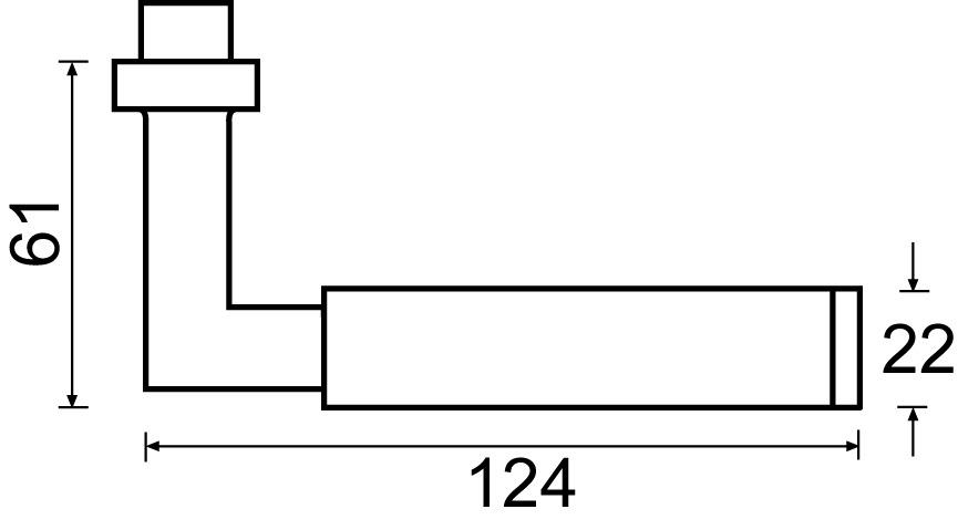 Drückergarnituren HAFI 218G
