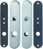 Schutztürschilder mit Dichtungseinlagen HOPPE E3331E-D/3310