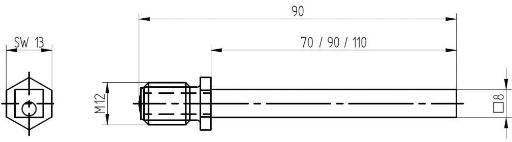 Verbindungsstift MEGA 42.058, 42.059