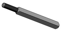 Wechselschloss-Verbindungsstifte M8 OK-LINE