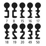 Schlüssel für Einsteckschloss SCHÄNIS 7362